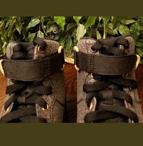 size 40 0b35e 9e1ce Nike Shoes - NIKE AIR FORCE 1 HIGH LV8 (GS) SNEAKERS 807617 007